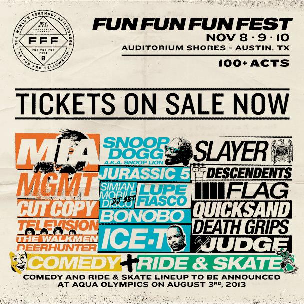 fun fun fun fest 2013