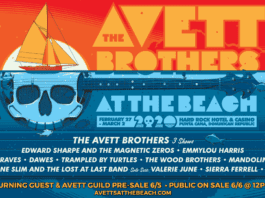avett brothers at the beach 2020 lineup announced live music blog