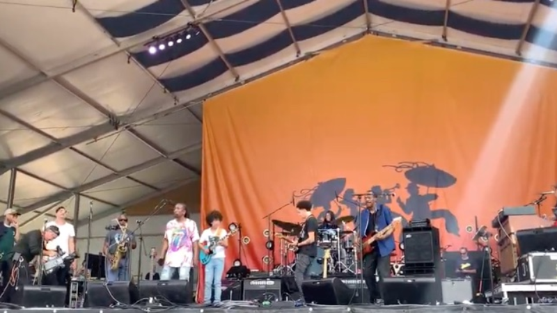 dumpstaphunk taz karl denson do rolling stones at jazz fest 2019