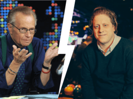 larry king and peter shapiro at capitol theatre october 2 2019