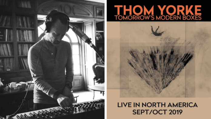thom yorke tomorrows morning boxes fall 2019 tour dates