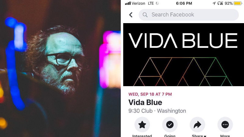 Vida Blue Date Surfaces @ 9:30 Club This September